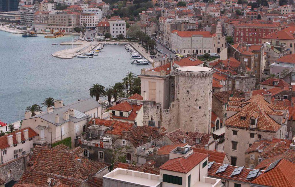 Split – die Hauptstadt Dalmatien