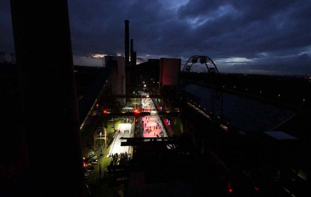 Nachtschicht auf Zollverein