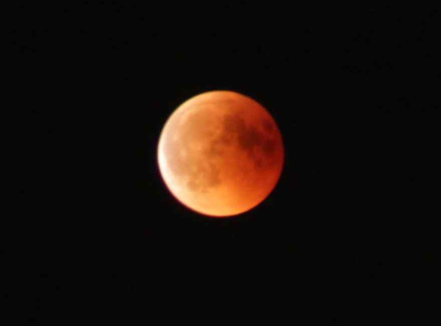 The longest total lunar eclipse of the 21st century