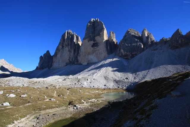 Die Drei Zinnen – ein Nicht-Dreitausender der Dolomiten