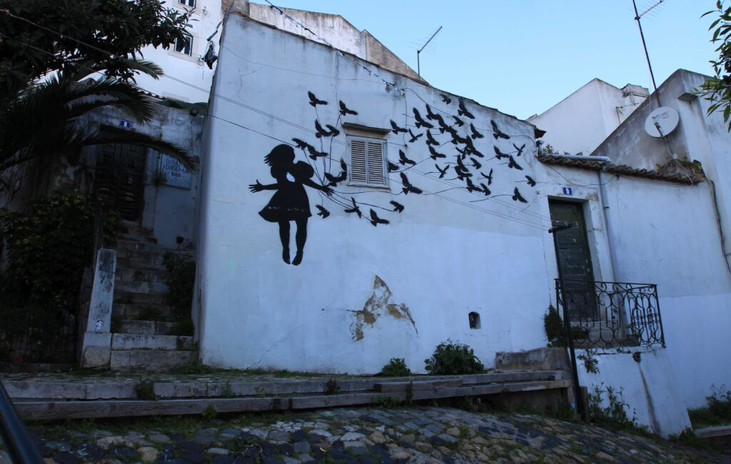 Streetart em Lisboa