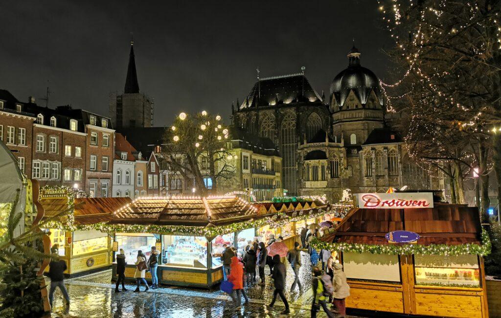 Weihnachtsmarkt 2019 in Aachen